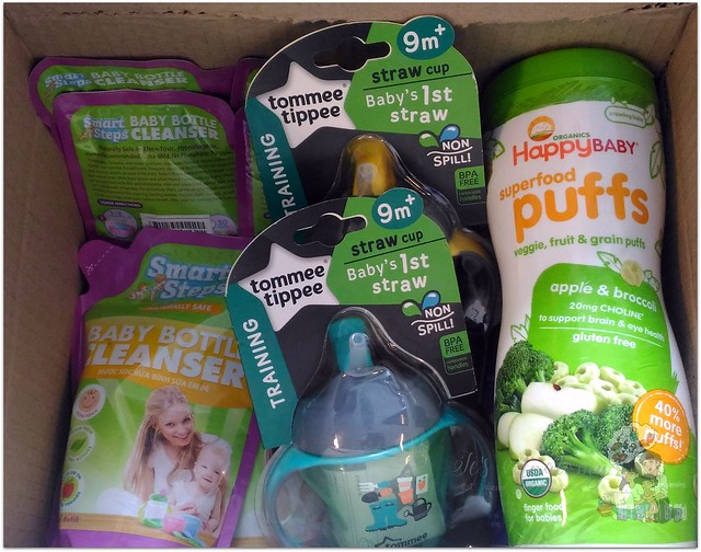 cudsly smart steps happy baby superfood puffs