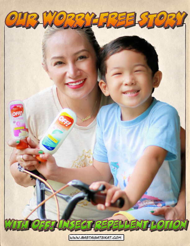 Worry-free bonding moments with OFF! Insect Repellent Lotion!