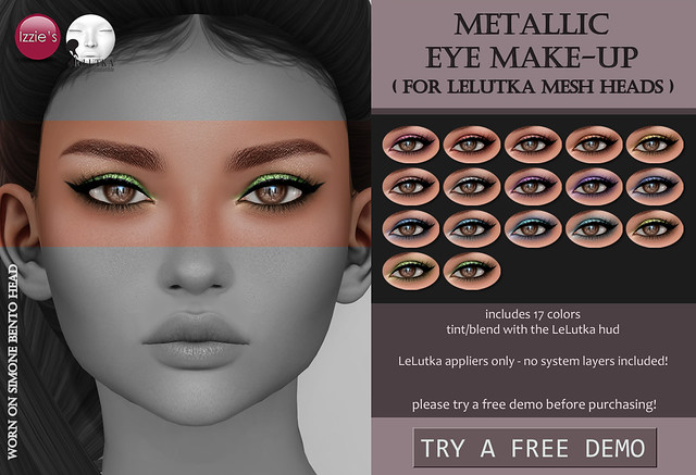 Metallic Eye Make-Up (LeLutka)