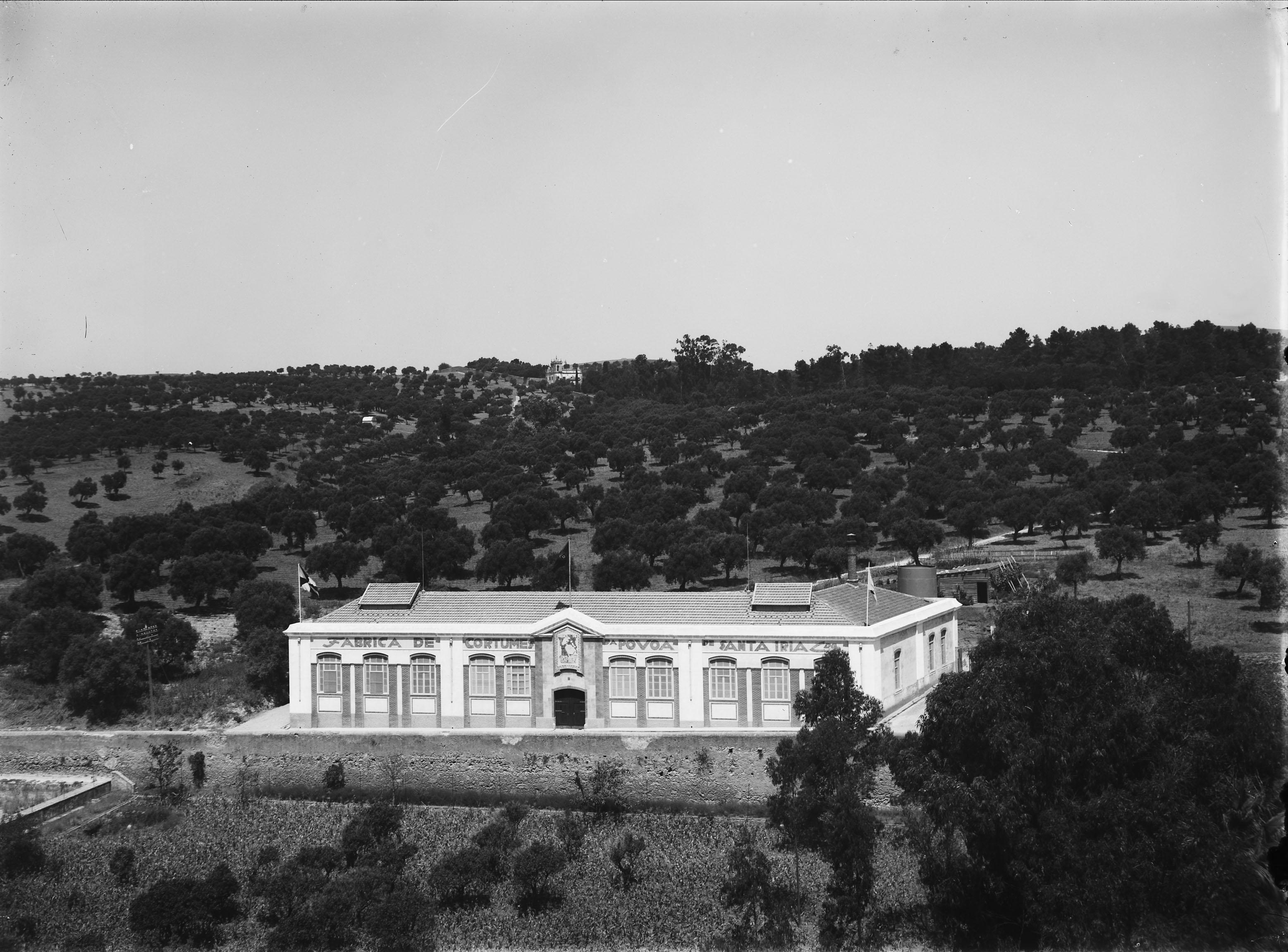 Fábrica de Cortumes, Póvoa de St.ª Iria (M. Novaes, s.d.)