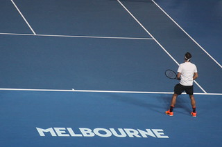 Federer Back at Melbourne | by Mik Arber
