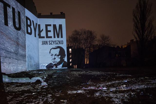 Wycinka przy ulicy Stalowej w Warszawie - tu byłem