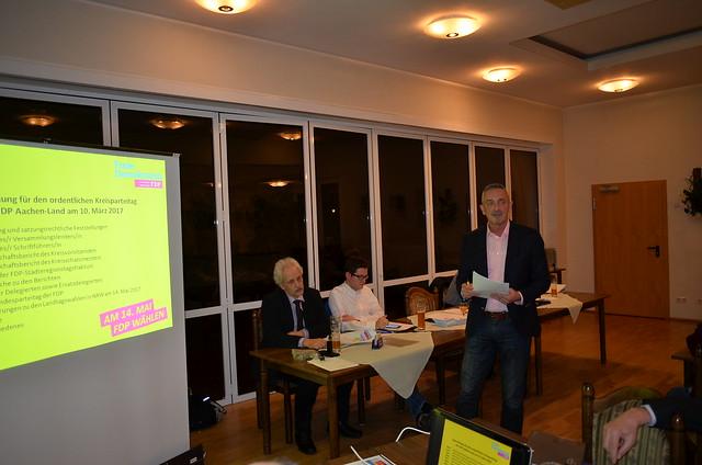 Kreisparteitag am 10.03.2017 in Baesweiler