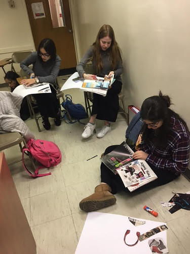 Freshman Girl Vision Mapping with Mrs. Alice Chera