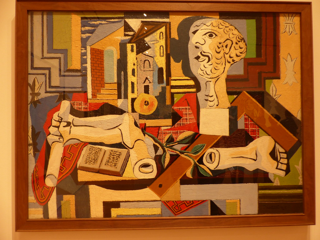 Tableau de pablo picasso au moma de new york tableau - Grand tableau new york ...