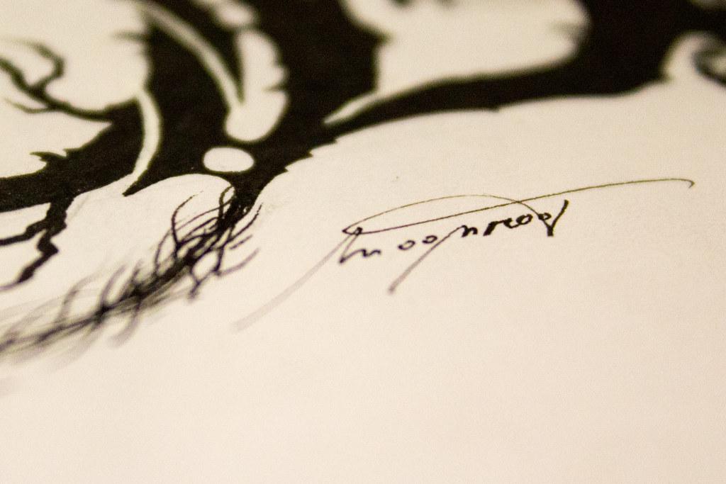 Umelecký podpis. Foto: Lucia Tupá
