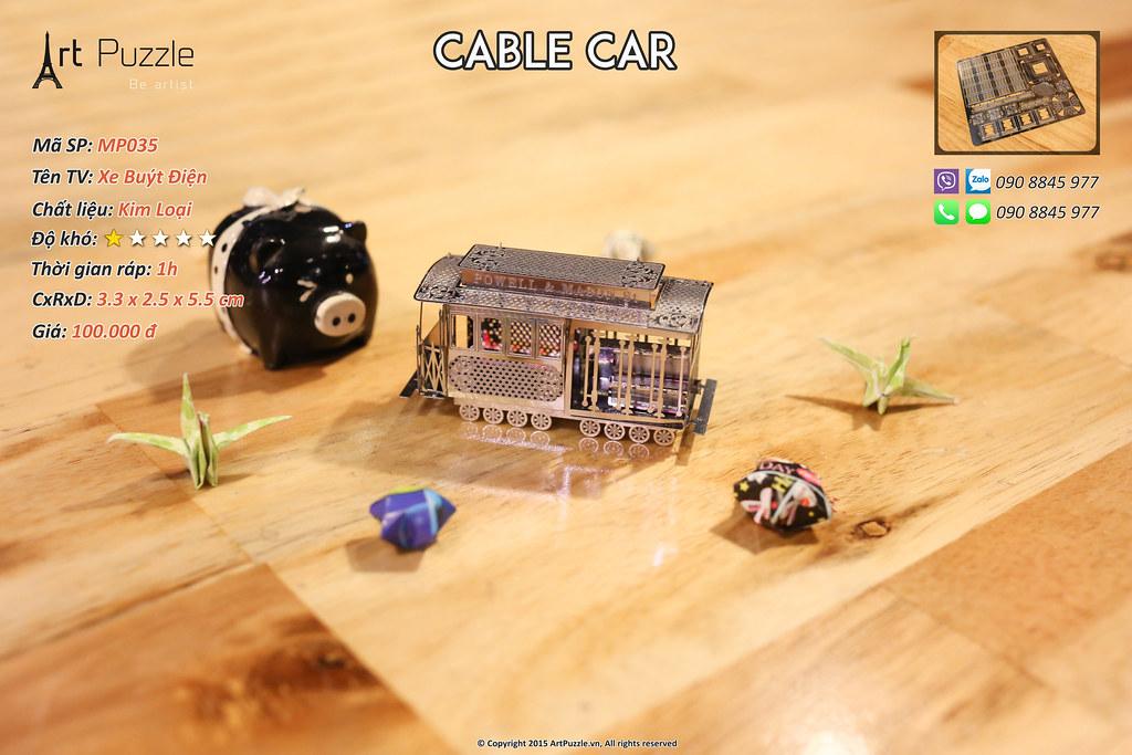 Art Puzzle - Chuyên mô hình kim loại (kiến trúc, tàu, xe tăng...) tinh tế và sắc sảo - 36
