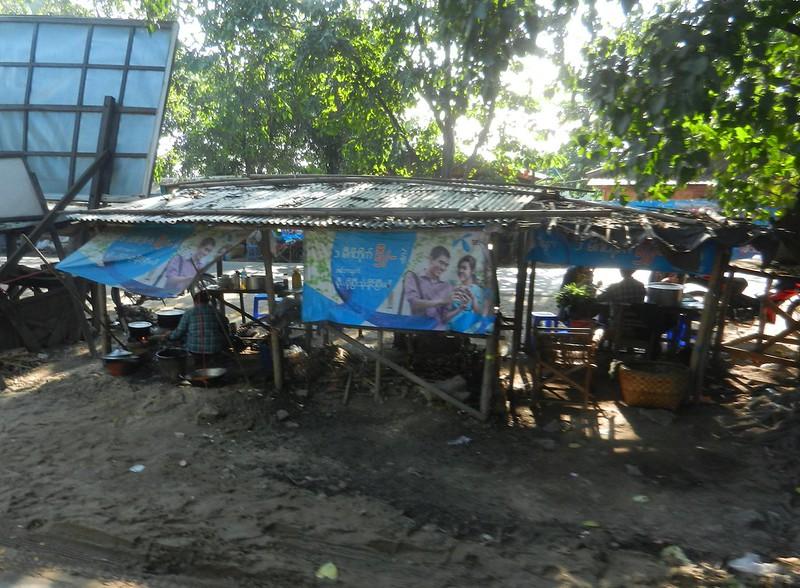 Придорожная жизнь Бирмы
