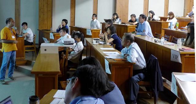 2015 氣候行動網絡論壇。中日印韓與台灣NGO共商氣候行動。