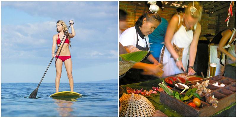 Surf Goddess Retreats Standup Padding, Cooking Classes