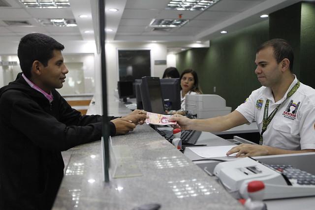 Fotos bcv mostr elementos de seguridad de nuevos billetes for Ministerio de relaciones interiores y justicia