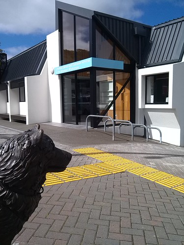 Exterior Lyttelton Library and Customer Services