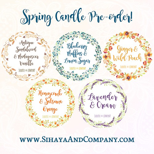 Spring Candle Collection