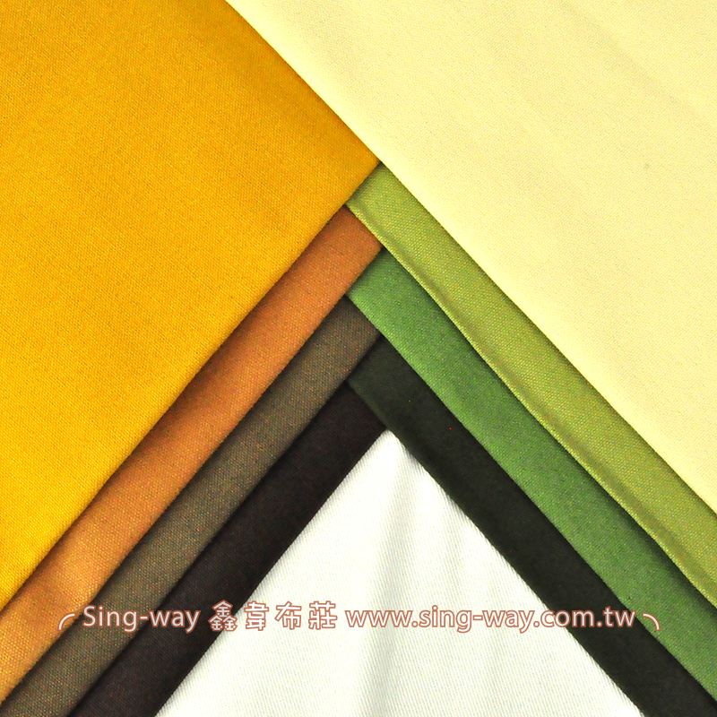 2C590035 黃綠色系 素面棉質酒袋布 帆布 3尺8