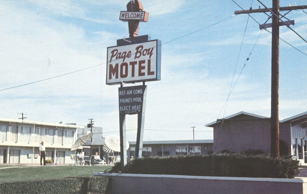 the cardboard america motel archive page boy motel page. Black Bedroom Furniture Sets. Home Design Ideas