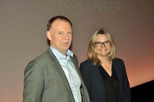Anders Ynnerman och Sofia Seifarth