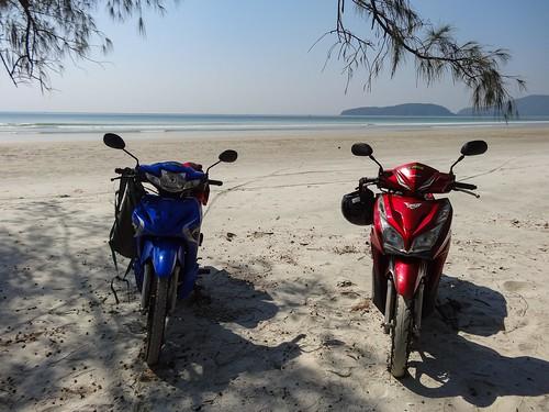 2 motorbikes