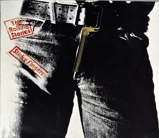 "ROLLING STONES STICKY FINGERS WORKING ZIPPER Germany 12"" LP VINYL 
