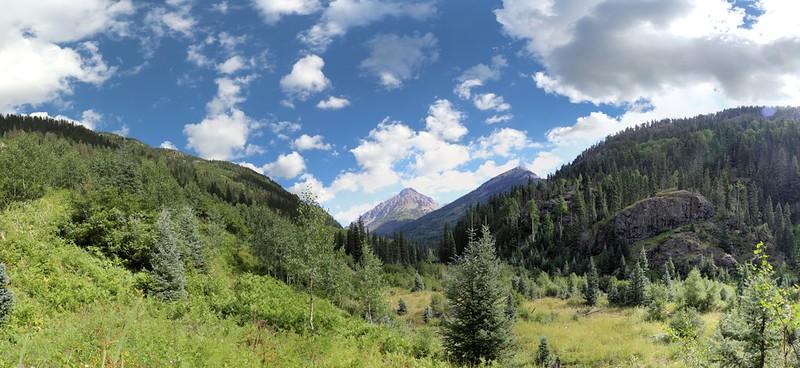 Irving Peak and Peak 13179