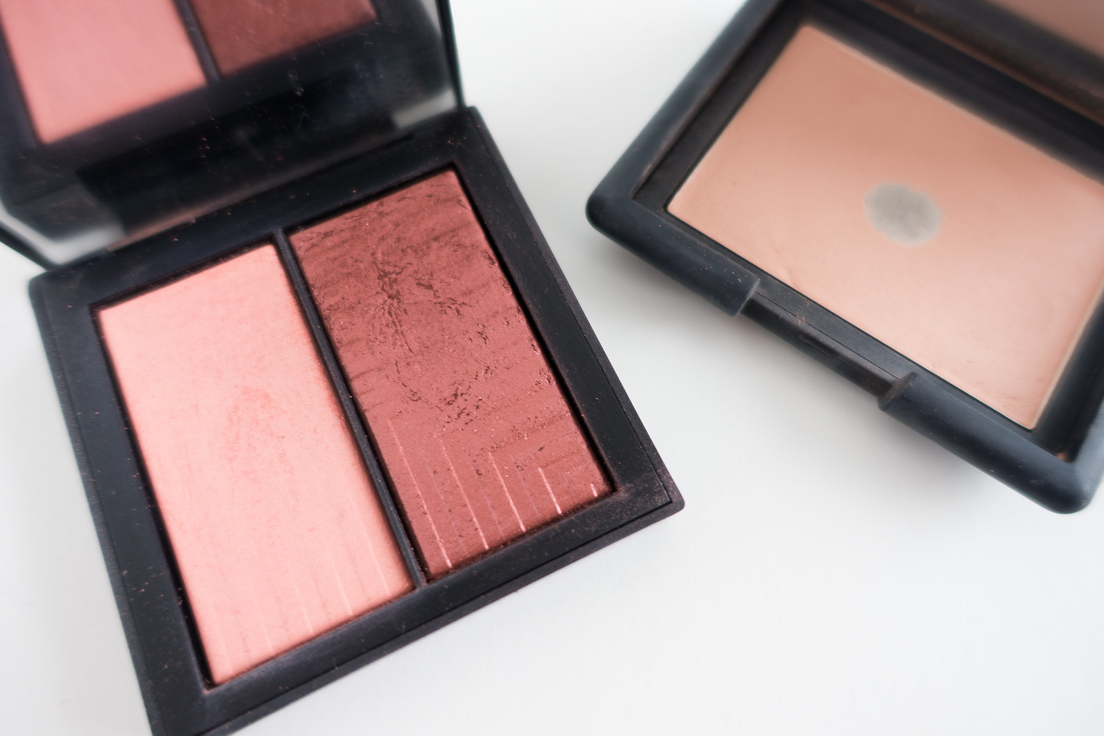 NARS Dual Intensity and Silent Nude Blush