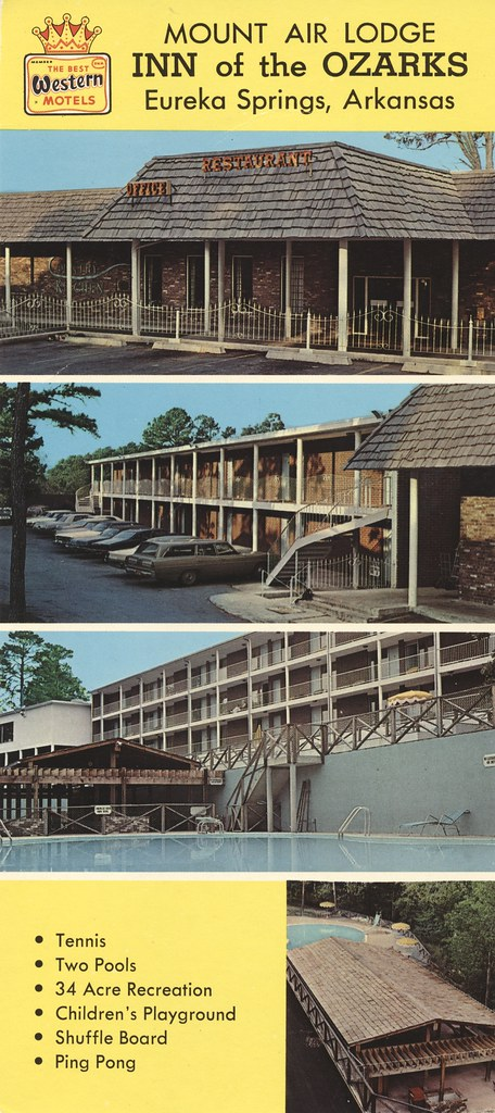 Mount Air Lodge Inn of the Ozarks - Eureka Springs, Arkansas