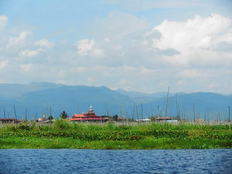 Виды озера Инле