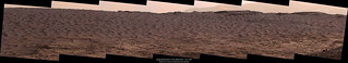 Bagnold Dunes In The Afternoon Sol 1169 Panorama Taken