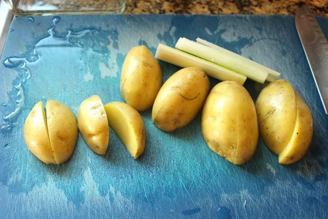 Stupid Easy Potato Leek Soup