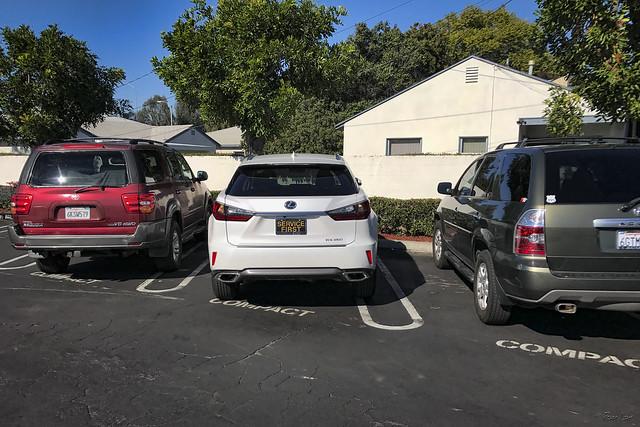 Compact car parking
