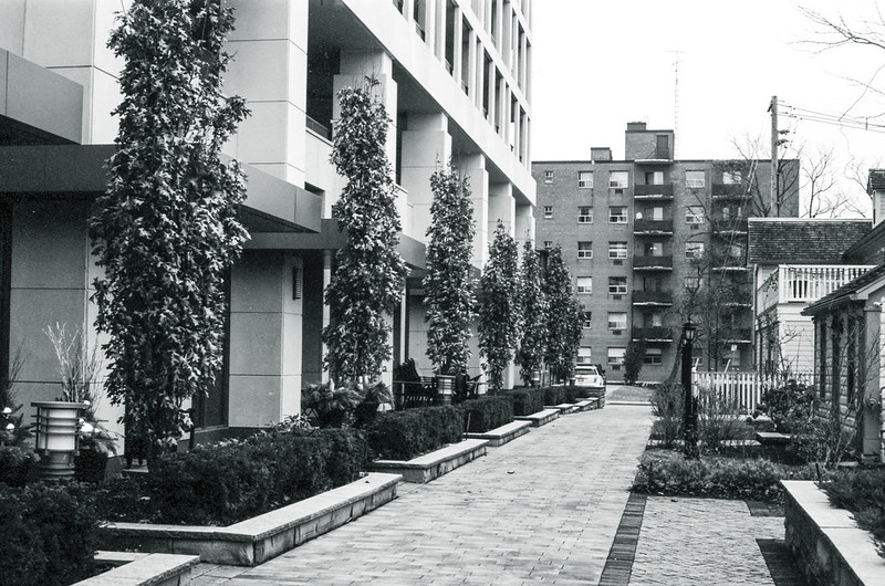 Pathway Between Condo and Heritage Two