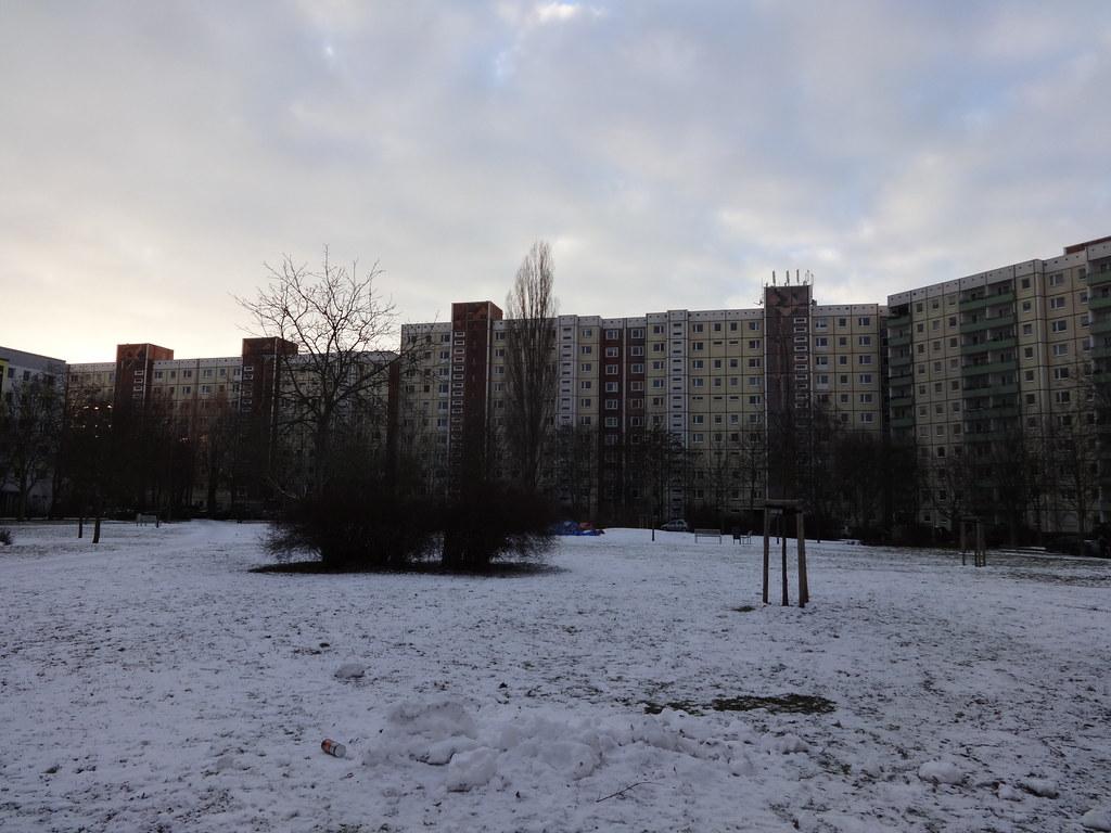 ... 1985 Berlin O. Wandgestaltung Von Inge Jastram Spaltklinker Quartier  Wuhletal Viertel Bansiner Straße