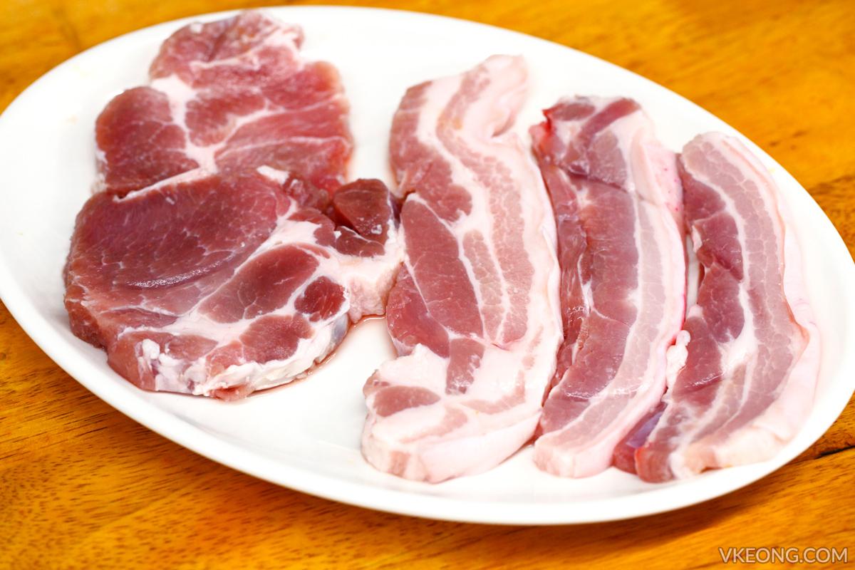 Sae Ma Eul Pork Set