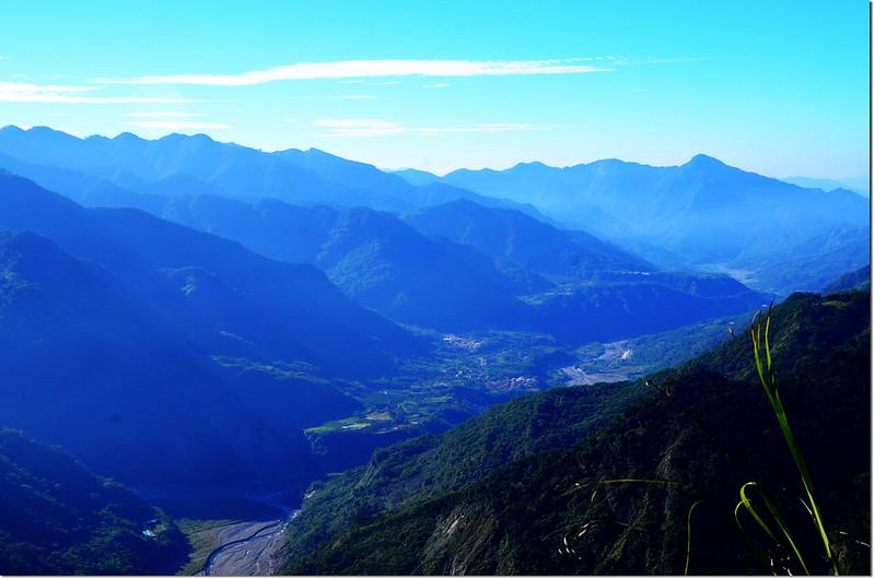 1734峰西南稜南望 2