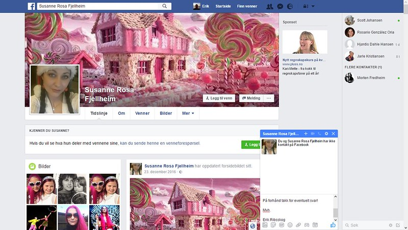 facebook fjellheim