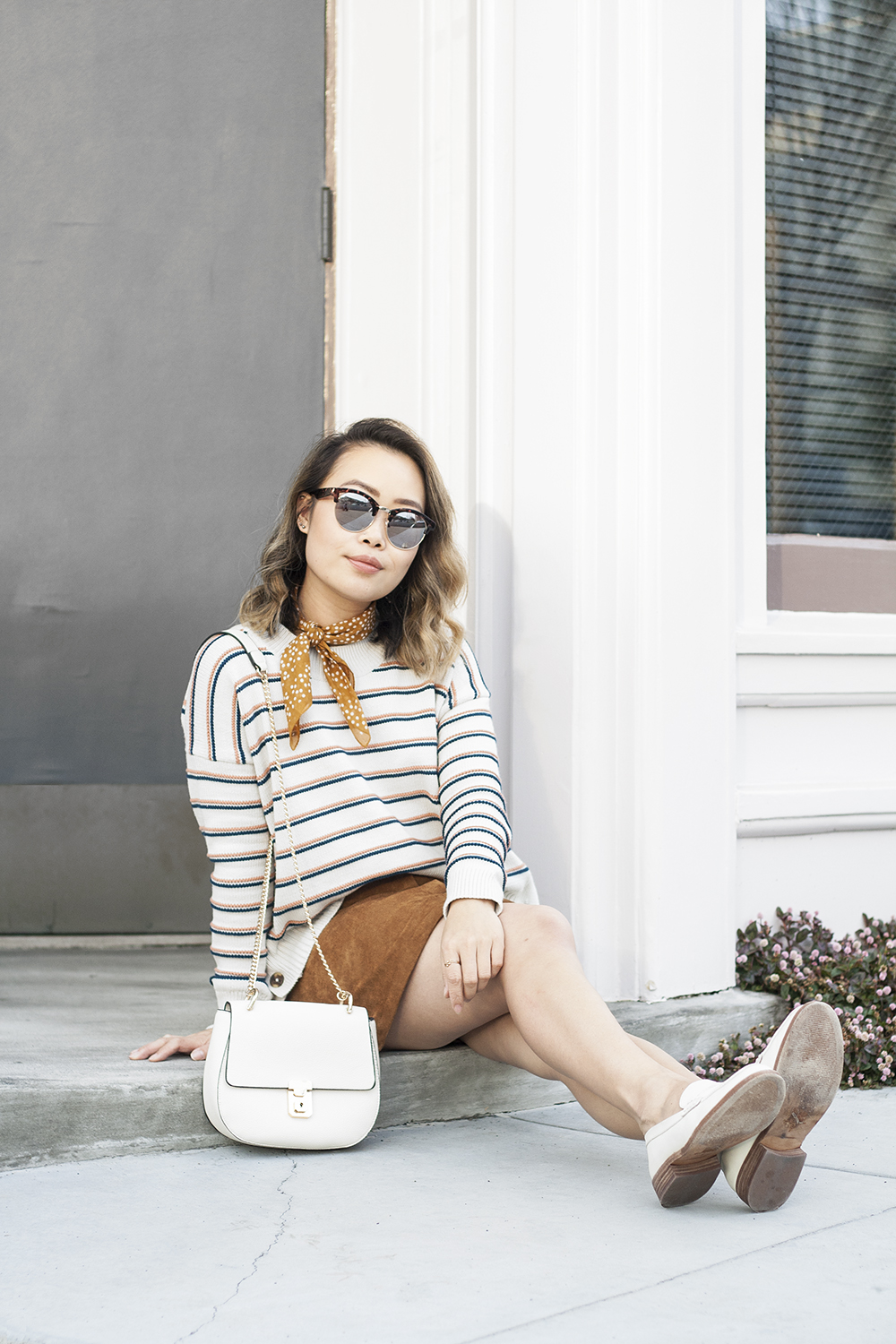 04madewell-stripes-sweater-necktie-loafers-fashion-style-sf