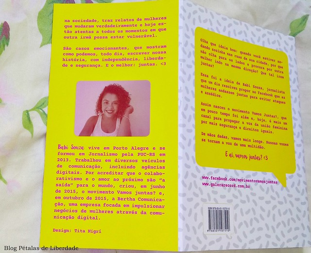 Resenha, livro, Vamos-juntas, Babi-Souza, Galera-Record,