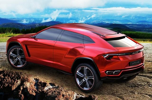 Lamborghini Urus Concept 2012 3