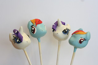 my little pony cake pops 2 | by Sweet Lauren Cakes