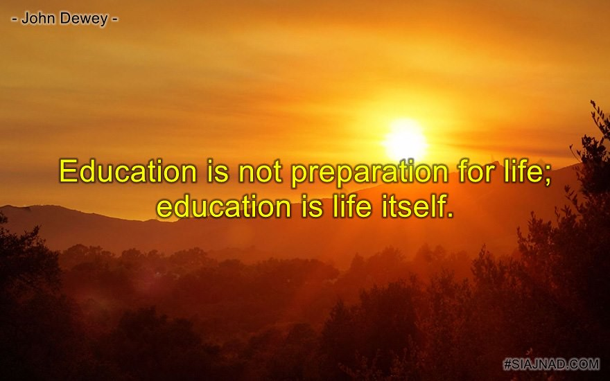 education is life