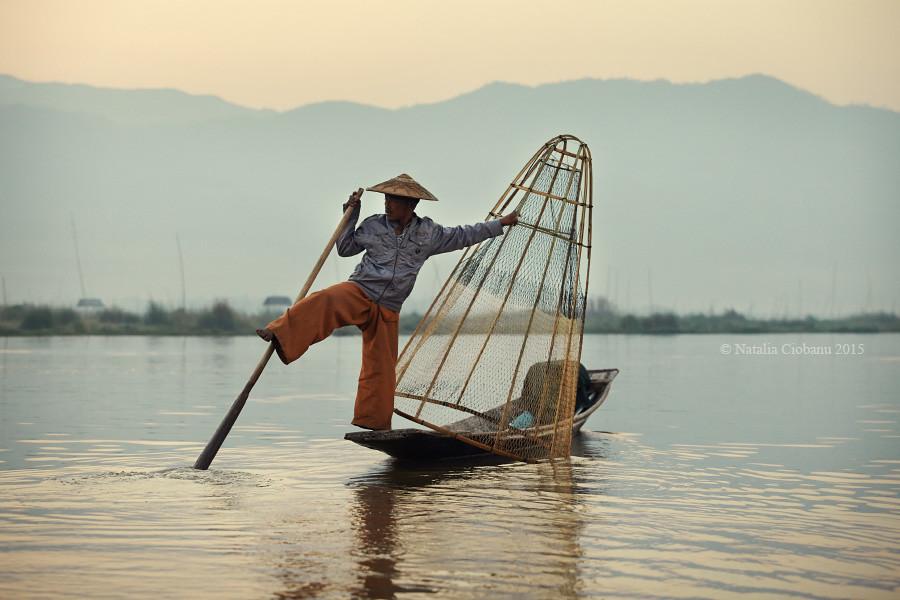 мьянма, озеро, инле, рыбак, бирма, burma, inle lake, myanmar,