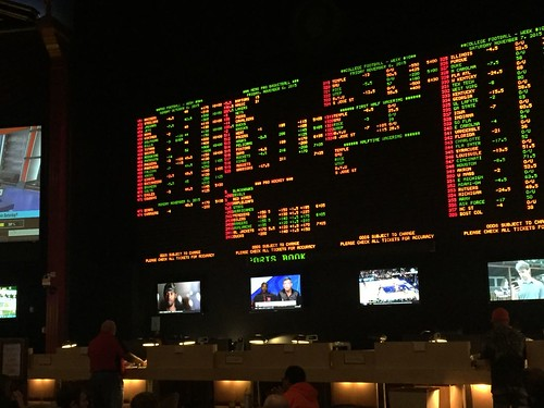 Sports betting at Caesar's