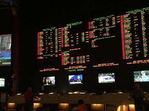 Sports betting at Caesar's