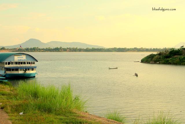 Mekong River Pakse Laos