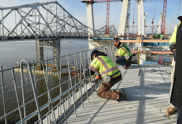 Governor Cuomo Announces Milestone Topping Off and Completion of Eight Main Span Towers on New NY Bridge