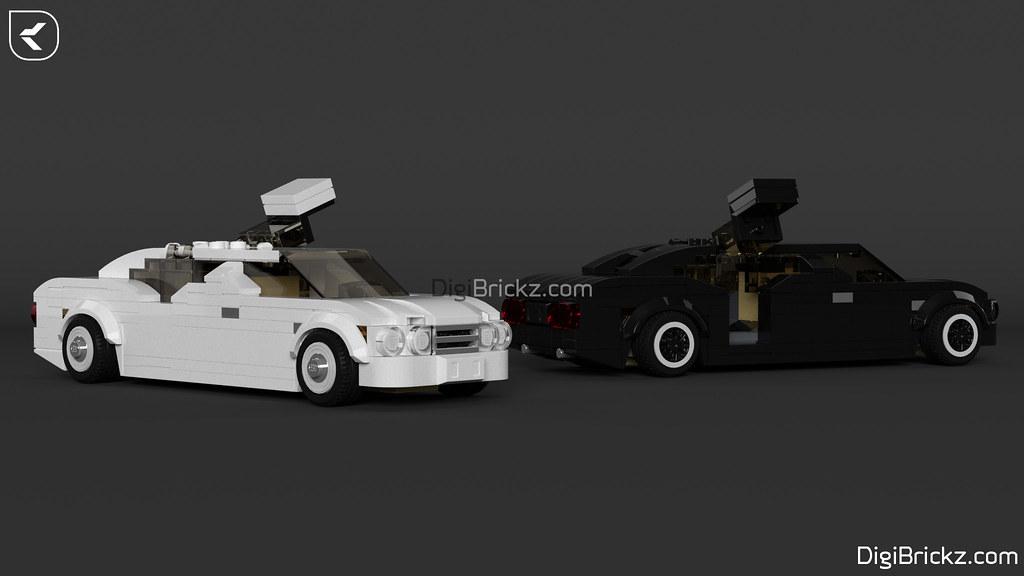 LEGO Limousines by Kamal Muftie Yafi (KamalMYafi/Kamteey) | DigiBrickz.com