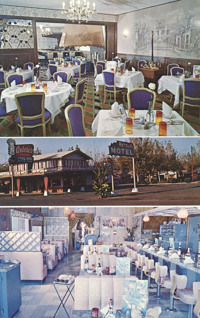 Antola's Italian Restaurant & Motel - Merced, California