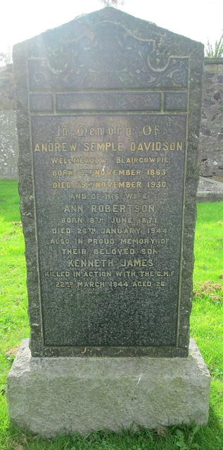 Abernethy War Inscription 6