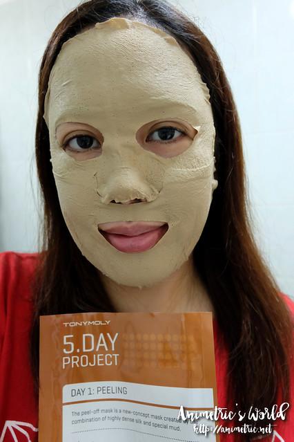 Tonymoly 5 Day Project Mask Sheet