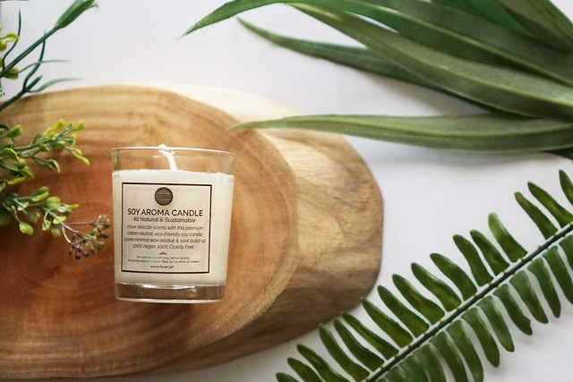 FAVORI Citronella _ Lemongrass Soy Aroma Candle
