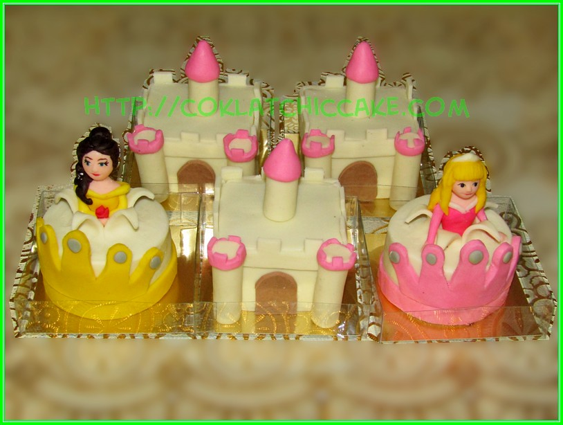 minicake castle princes